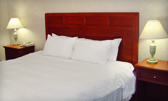 Americas Best Value Inn & Suites Minneapolis - West Bloomington: $149 for a Two-Night Getaway for Up to Four at Americas Best Value Inn & Suites in Shakopee ($298 Value)