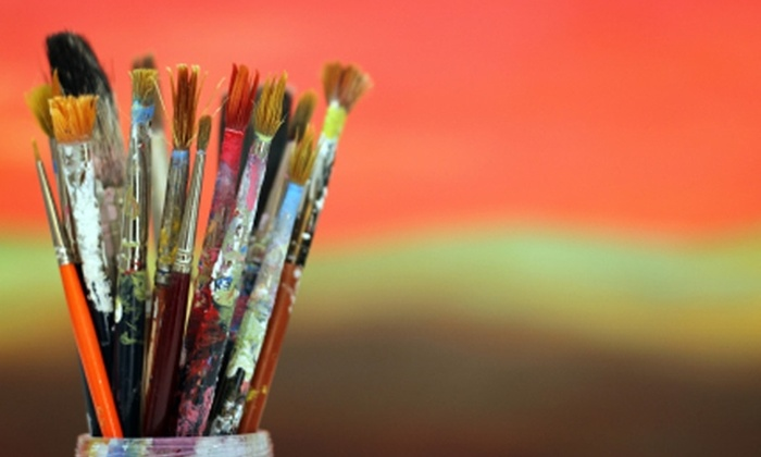 Corks & Colors Studio - Gainesville: $5 for Admission to Two Open-Studio Painting Sessions at Corks & Colors Studio ($10 Value)