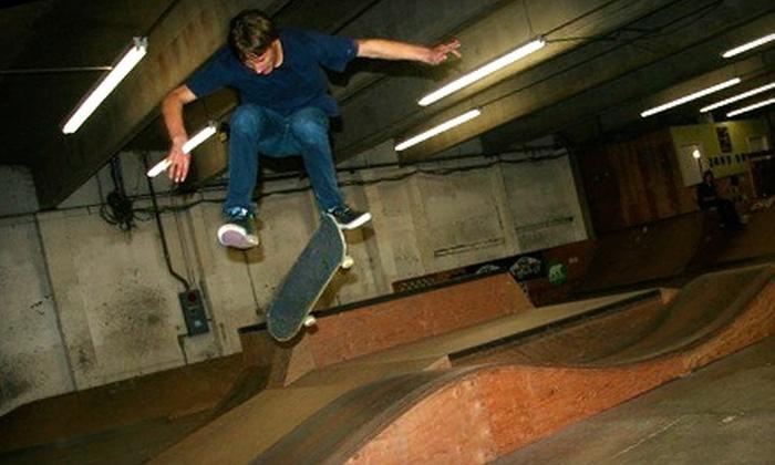 Inner Space Skatepark - Wallingford: $8 for Two Unlimited-Time Admissions to Inner Space Skatepark (Up to $16 Value)