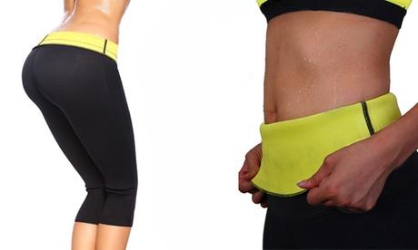 1 o 2 pantalones o fajas para Fitness con efecto sauna disponibles en diferentes tallas