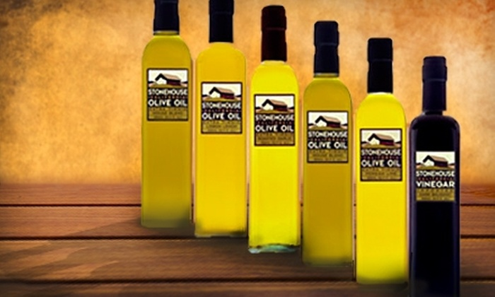 Stonehouse California Olive Oil - The Embarcadero: $7 for $15 Worth of Artisan Olive Oils and More at Stonehouse California Olive Oil