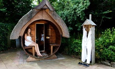 Saunaarrangement met 1 of 2 overnachtingen en ontbijt voor twee pers. bij Sauna en beautyresort de Leliehof in Makkum