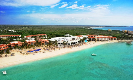 All-inclusive Stay at Grand Oasis Tulum in Mexico, with Dates into December. Includes Taxes and Fees.