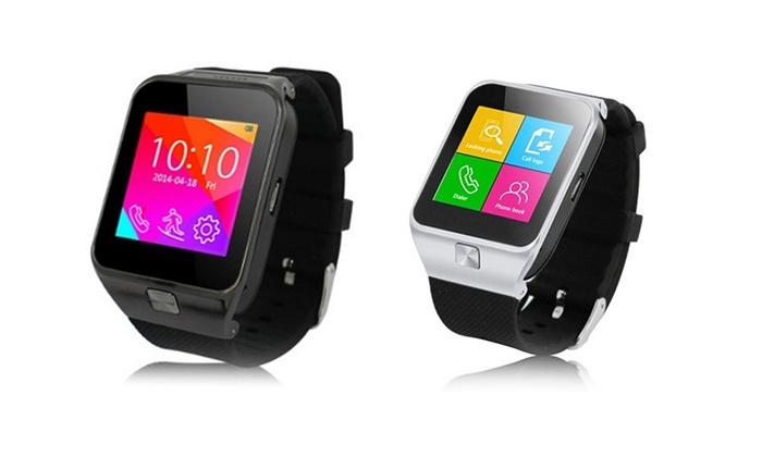 smartwatch in schwarz oder silber groupon goods. Black Bedroom Furniture Sets. Home Design Ideas