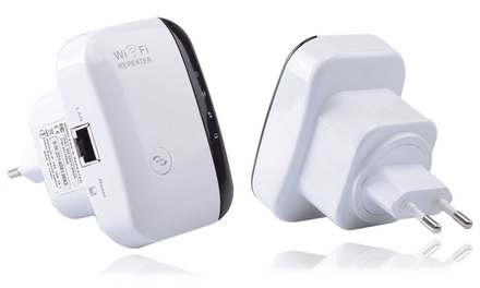 wireless n wifi repeater groupon goods. Black Bedroom Furniture Sets. Home Design Ideas