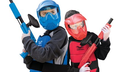 image for Gotcha Paintless <strong>Paintball</strong> Party Package for Up to 10, 15, or 20 People at Ricochet Tactical (Up to 36% Off)