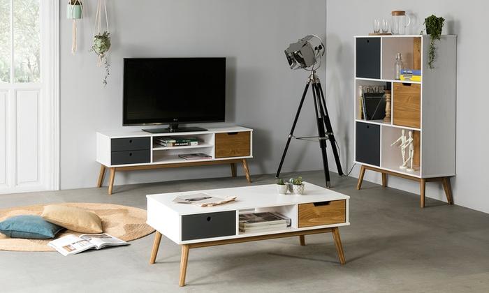 Conjunto de muebles de salón Leti   Groupon