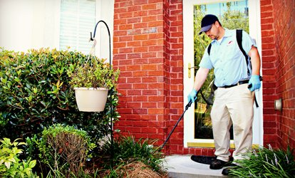 $59 for Interior and Exterior Pest-Control Knockdown Treatment from Inspect-All Services ($225 Value)