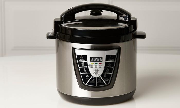 Digital Pressure Cooker with 6-Quart Capacity: Digital Pressure Cooker with 6-Quart Capacity