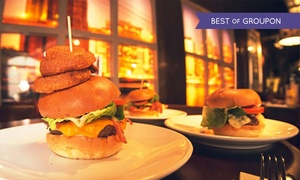 Brooklyn Bar: Nachos and Burritos or Burgers For Twoor Four at Brooklyn Bar (Up to 57% Off)