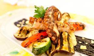 Sicilian Corner: Kuchnia włoska: przystawka lub zupa i danie główne dla 2 osób za 109,99 zł oraz więcej w Sicilian Corner (do -38%)