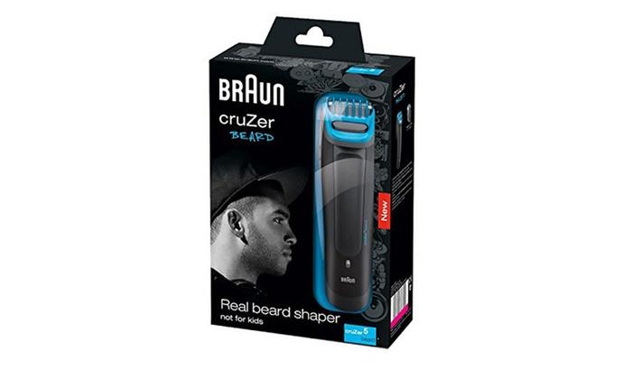 tondeuse barbe braun cruzer 5 beard