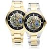 Geneva Platinum Skele for Her Women's Watch