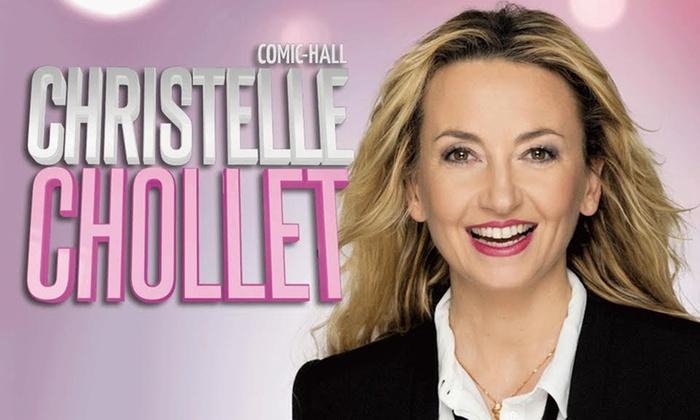 """NG Productions - Besançon: 1 place en catégorie unique assise pour """"Christelle Chollet"""", jeudi 12 avril 2018 à 20h30 à 24 € au Kursaal Besançon"""