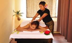 Chayo Thaimassage: 60 Minuten traditionelle thailändische Massage bei Chayo Thaimassage (bis zu 35% sparen*)