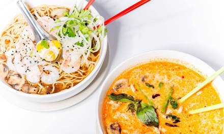 Food and Drinks at Kai and Little Crustacean (Up to 40% Off). Two Options Available.