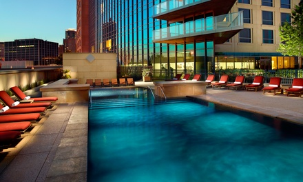 Stay at Omni Fort Worth Hotel in Fort Worth, TX. Dates into April.