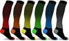 DCF Unisex Ombre Stripe Compression Socks (6-Pack): DCF Unisex Ombre Stripe Compression Socks (6-Pack)
