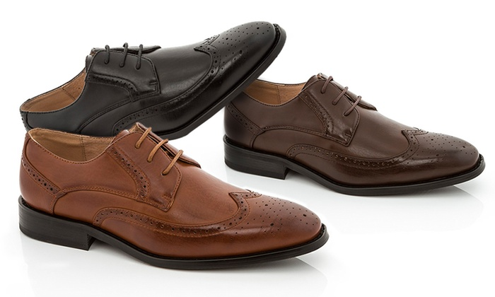 Adolfo Lace-Up Dress Shoes | Groupon Goods
