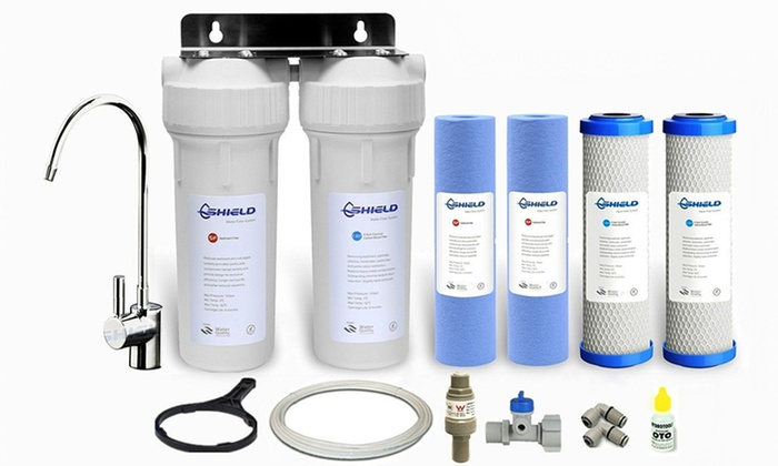 Shield Diy Water Filter System Groupon Goods