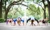 Savannah Yoga Barre - Victory Heights: One 10- or 20-Class Pass at Savannah Yoga Barre (Up to 73% Off)