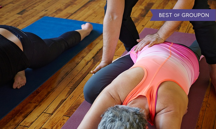 Sun and Moon Yoga - Park Ridge: 5 or 10 Yoga Classes at Sun and Moon Yoga (Up to 59% Off)