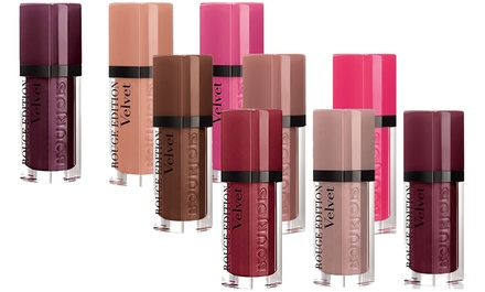 Set of Three Bourjois Rouge Edition Lipsticks