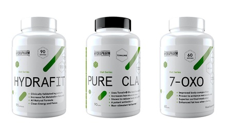 Hydrapharm Weight Management Capsules for Women: Pure CLA, Hydrafit or 7Oxo