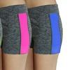 Women's Two-Tone Space Dye Hot Shorts