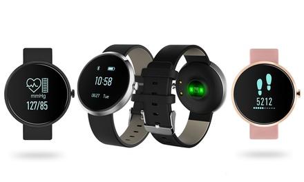 Montre connectée étanche SmartWatch Sinji avec Capteur Fréquence Cardiaque et Tracker dactivité