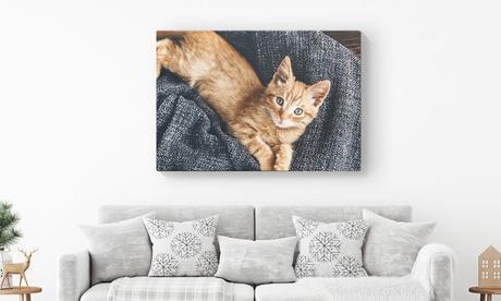 Foto-lienzo personalizable a elegir tamaño de hasta 101 x 76 cm desde 1,99 € con Printer Pix Oferta en Groupon