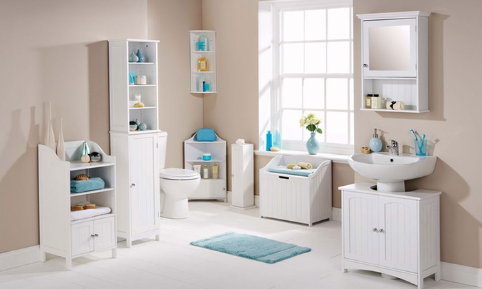 new england style bathroom cabinets. groupon goods global gmbh: new england style bathroom furniture from £19.99 with free delivery cabinets b