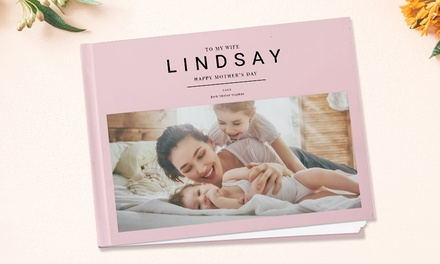 From $6.95 for Personalised Imagewrap Hardcover Photobook in 20 or 40 Pages (Don't Pay up to $104.95)