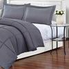 Gray Medium-Warmth Down Alternative Comforter