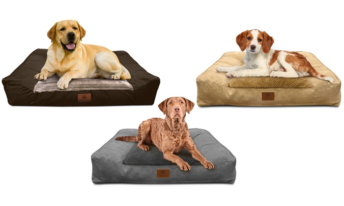 Up To 48% Off on AKC Memory Foam Large Sofa Bed | Groupon Goods