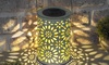 One, Two or Four Hanging Solar Flower Lanterns