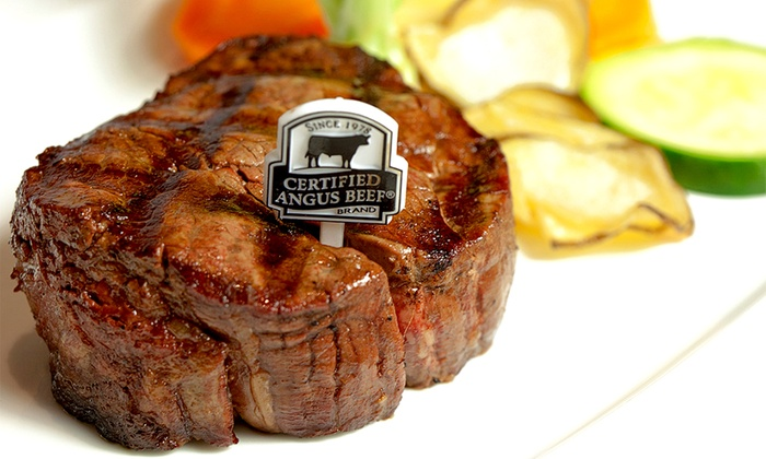 Day & Night Angus Steak and Raw Bar - Day & Night Angus Steak & Raw Bar: C$69 for a Five-Course Steak or Seafood Meal for Two at Day & Night Angus Steak and Raw Bar (C$146 Value)