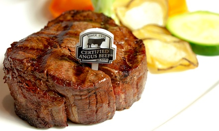 $69 for a Five-Course Steak or Seafood Meal for Two at Day & Night Angus Steak and Raw Bar ($146 Value)