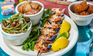 Pantego Bay: Seafood Lunch or Dinner for Two at Pantego Bay (Up to 40% Off)