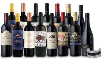 Up to 79% Off 15 Bottles of Red Wine from Splash Wines