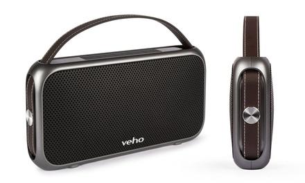 Enceinte bluetooth, imperméable, sans fil et disposant dun powerbank de la marque Veho