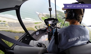 Bird's Eye View Helicopters: Mansion Helicopter Tour from Bird's Eye View Helicopters (Up to 45% Off)