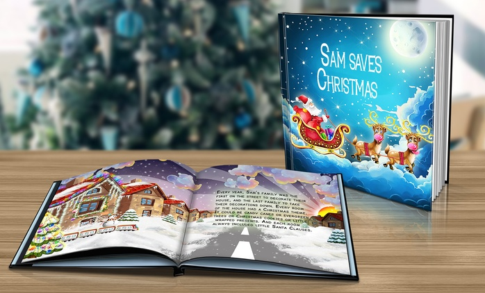 Personalised Christmas Story Book from £2 (Up to 87% Off)