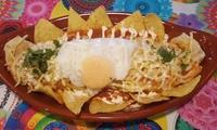 Cocina mexicana para 2 o 4 con entrantes, principales, postres caseros y bebidas desde 19,90 € en La Calaca Mexicana