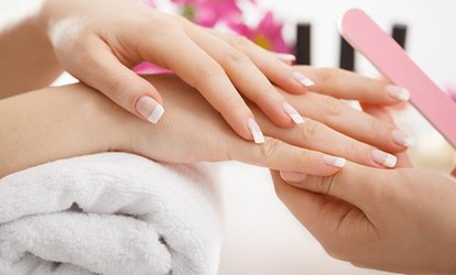 image for Express Manicure, Pedicure or Both with Foot or Hand Massage or Both at Utopia Hair and Beauty (Up to 70% Off)