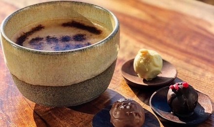 Hot Drink with Truffles for One ($7), Two ($14) or Four People ($28) at Choc Moi (Up to $44 Value)