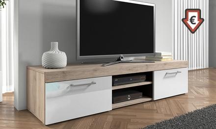 Meuble TV Mambo laqué, coloris au choix à 89,99€