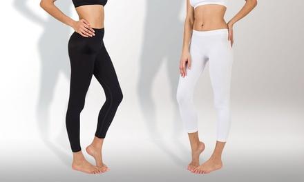 1 ou 2 leggings aux actifs minceur Liposlim jour & nuit