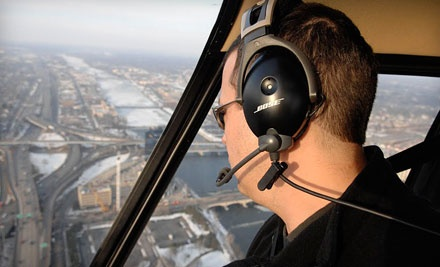 EasyRotor Helicopter: Adrenaline Rush Tour for Up to Three People on Wed., Aug. 24 - EasyRotor Helicopter in Grand Rapids