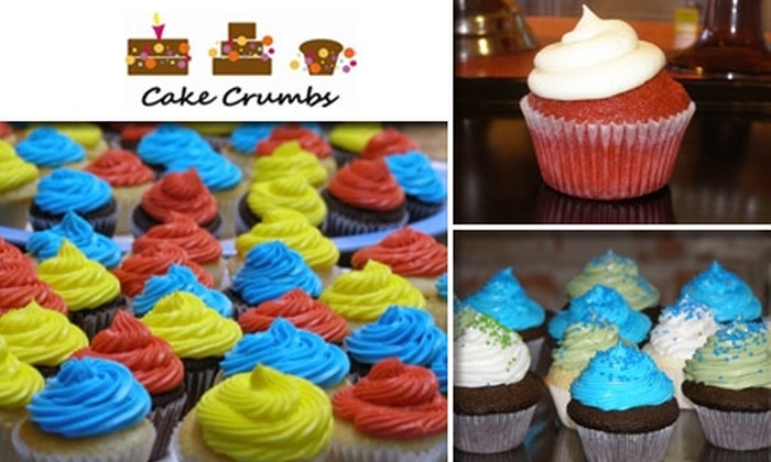 Cake Crumbs - Park Hill: $10 for Nine Cupcakes at Cake Crumbs Bakery
